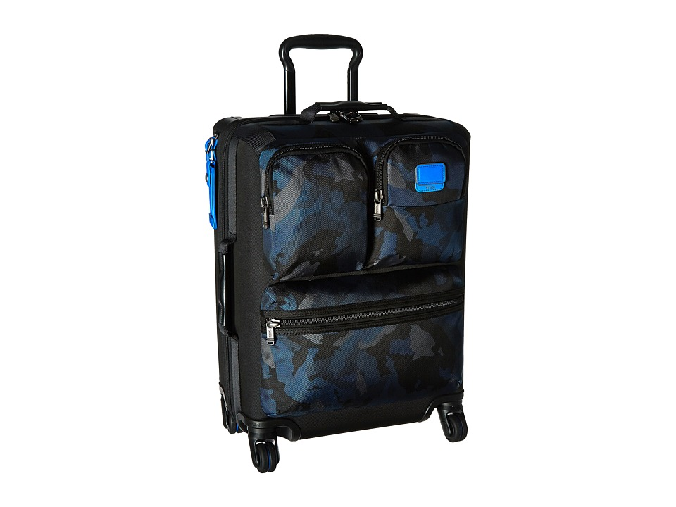 Tumi Alpha Bravo Kirtland International Continental Carry-On (Blue Camo) Carry on Luggage