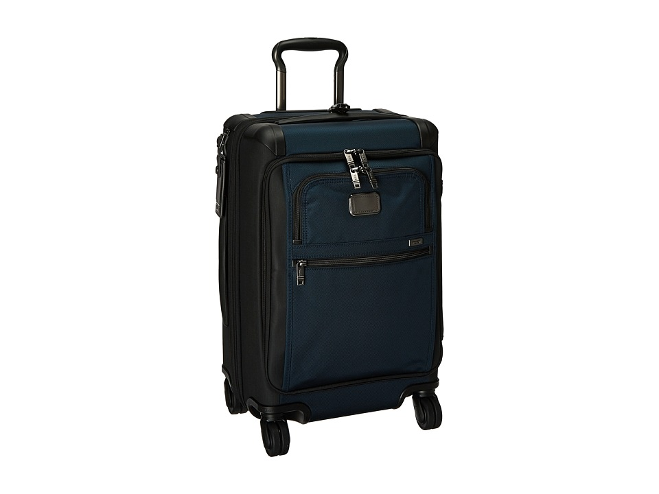 Tumi Alpha 2 Front Lid International Carry-On (Navy/Black) Carry on Luggage