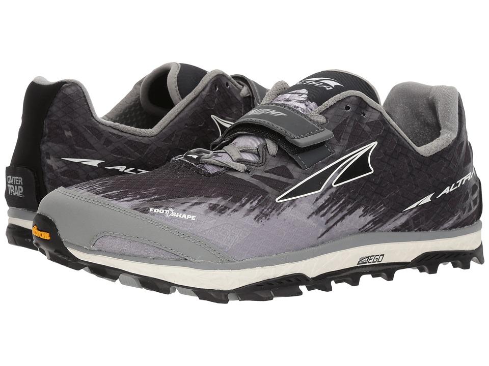Altra Footwear - King MT 1.5 (Black) Men's Running Shoes