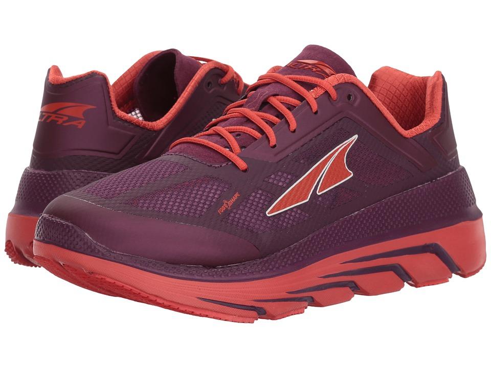 Altra Footwear Duo (Orange) Women's Running Shoes