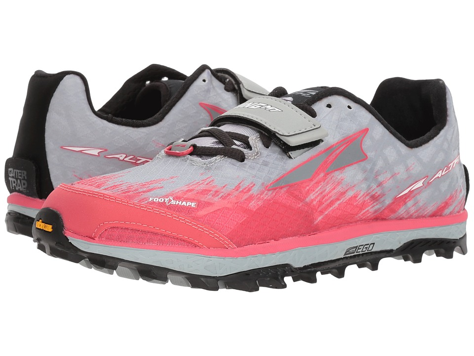Altra Footwear King MT 1.5 (Gray/Pink) Women's Running Shoes