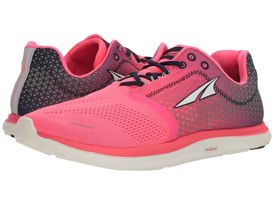 Altra Footwear Solstice (Pink/Blue) Women's Running Shoes