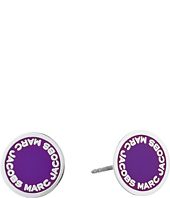 Marc Jacobs - Logo Disc Enamel Studs Earrings