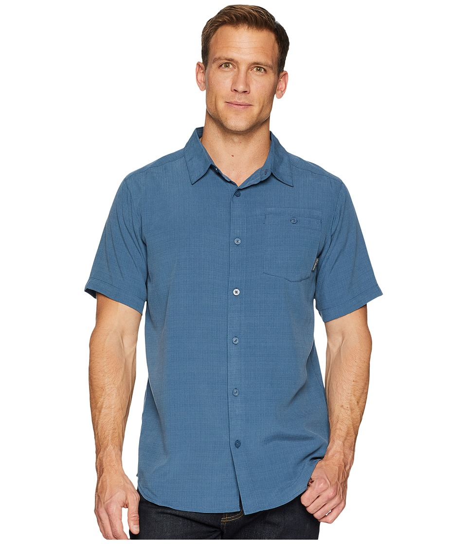 Columbia - Mossy Trailtm S/S Shirt (Whale) Mens Short Sleeve Button Up