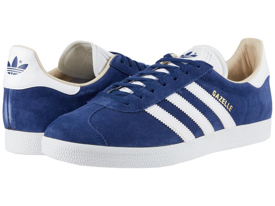 newest 3cf48 ad64e adidas Originals Gazelle (Noble Indigo-White-Linen) Womens Shoes