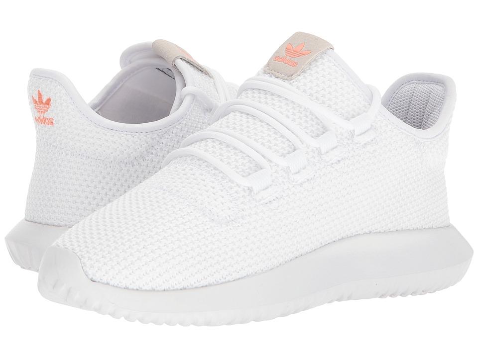 adidas Originals Tubular Shadow (White/White/Black) Women