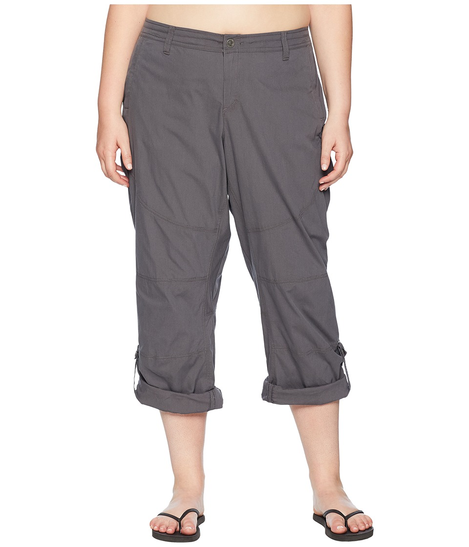 KUHL Plus Size Spire Roll-Up Pants (Shadow) Women
