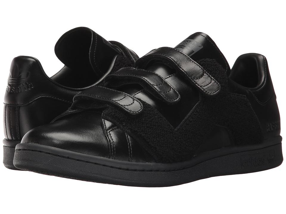 adidas by Raf Simons RS Stan Smith Comfort Badge (Core Black/Core Black/Core Black) Shoes