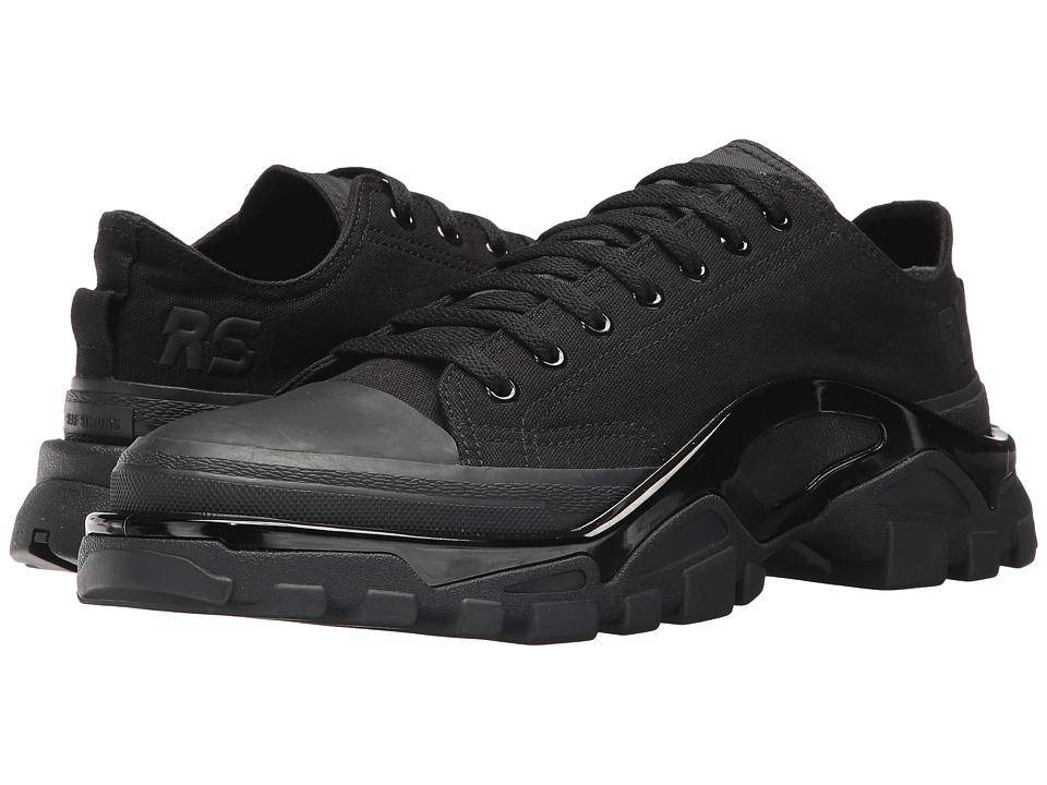 Image of adidas by Raf Simons - Raf Simons New Runner (Core Black/Core Black/Core Black) Men's Shoes