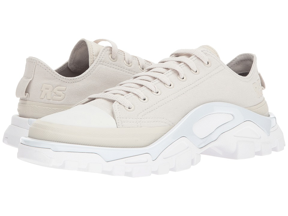 adidas by Raf Simons - Raf Simons New Runner (Talc/Talc/Optic White) Mens Shoes
