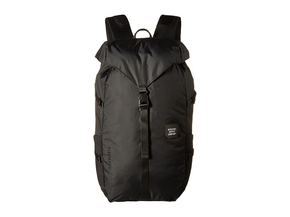 Herschel Supply Co. - Barlow Large (Black) Backpack Bags