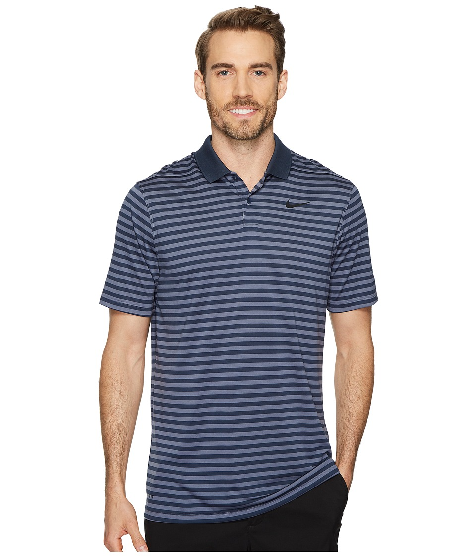 0d14e8a8 Nike Victory Mini Stripe Polo Shirt Mens