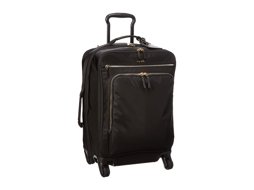 Tumi Voyageur Super Leger International Carry-On (Black) Carry on Luggage