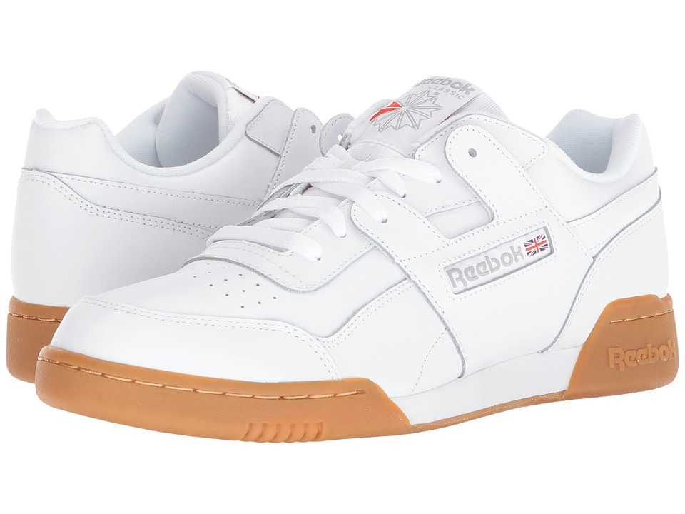Reebok Lifestyle - Workout Plus (White/Carbon/Classic Red...