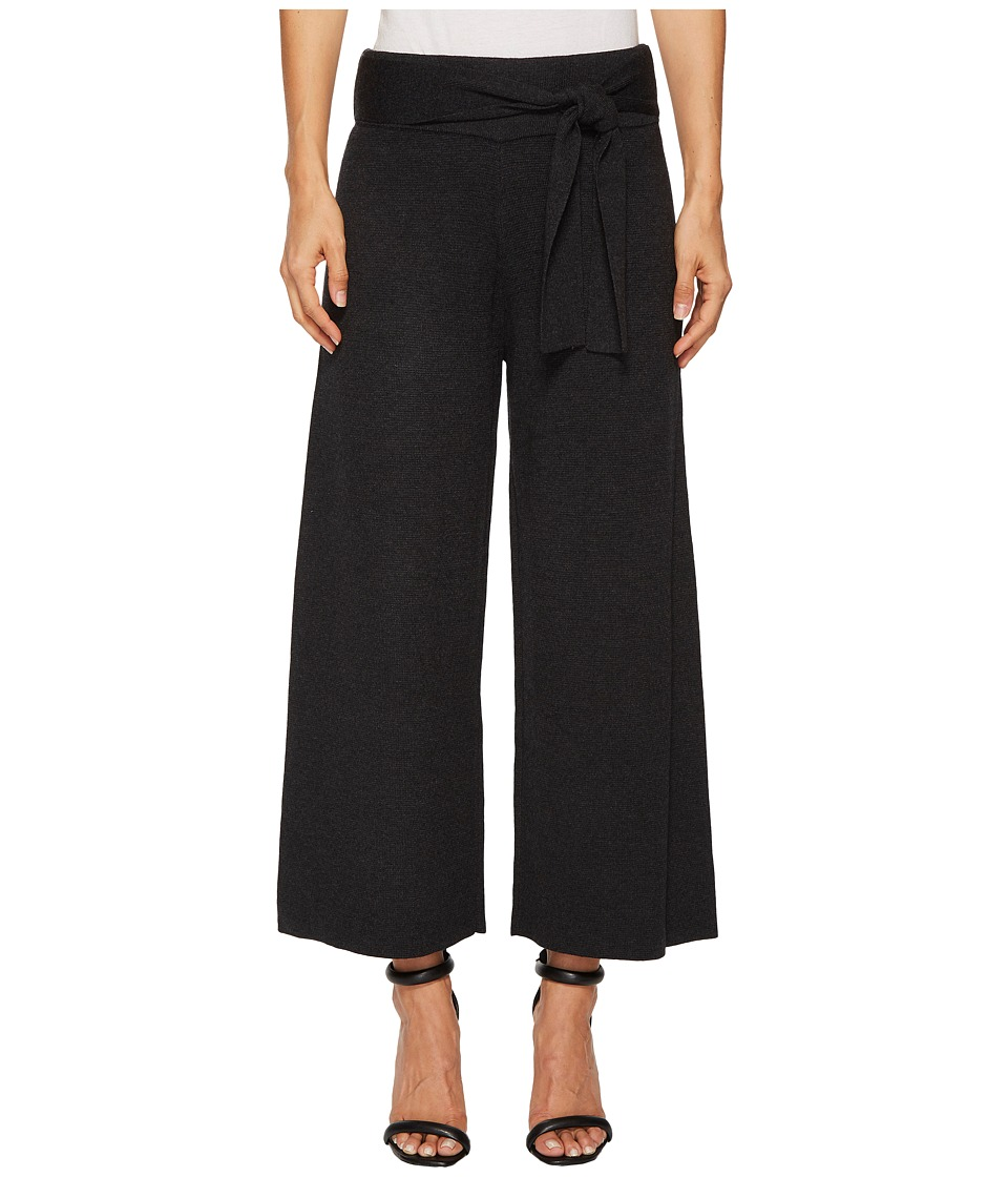 CATHERINE Catherine Malandrino - Knit Tie Front Wide Culotte Pants