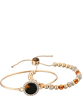 GUESS - Duo Bracelet Set w/ Tension and Slider Close Bracelet