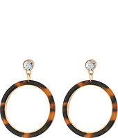 GUESS - Tortoise Ring Drop Earrings