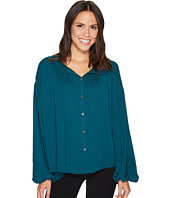 CATHERINE Catherine Malandrino - Gathered Yoke Peasant Sleeve Top