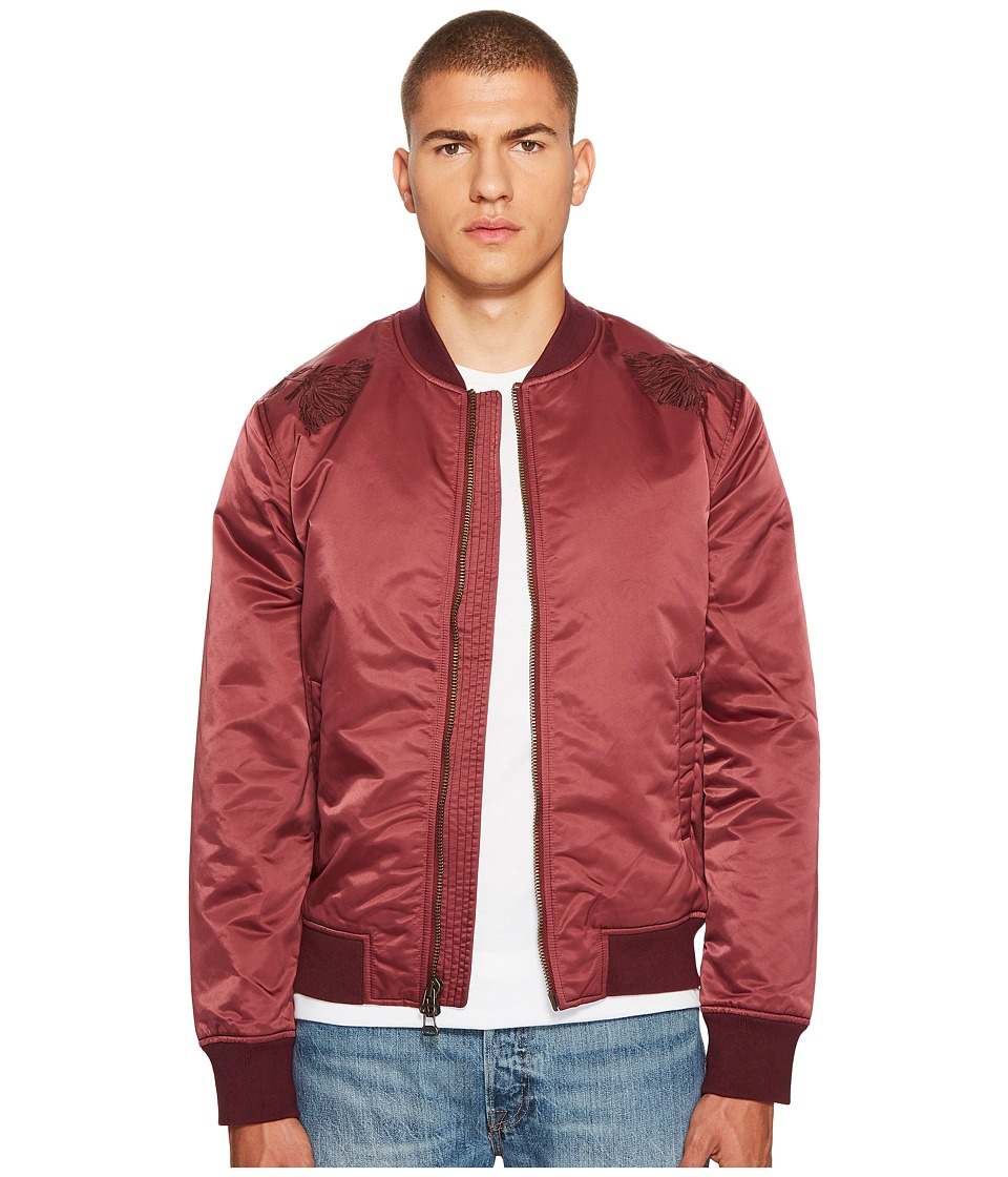Levis(r) Premium - Made Crafted Souvenir Jacket (Red) Mens Coat