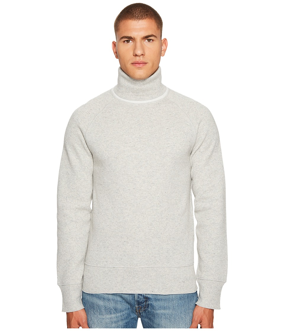 Levis(r) Premium - Made Crafted Cashmere Blend Turtleneck (White) Mens Sweater