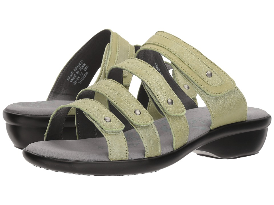 Propet Aurora Slide (Silver Sage) Women's Shoes