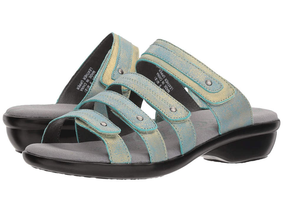 Propet Aurora Slide (Imperial Blue) Women's Shoes