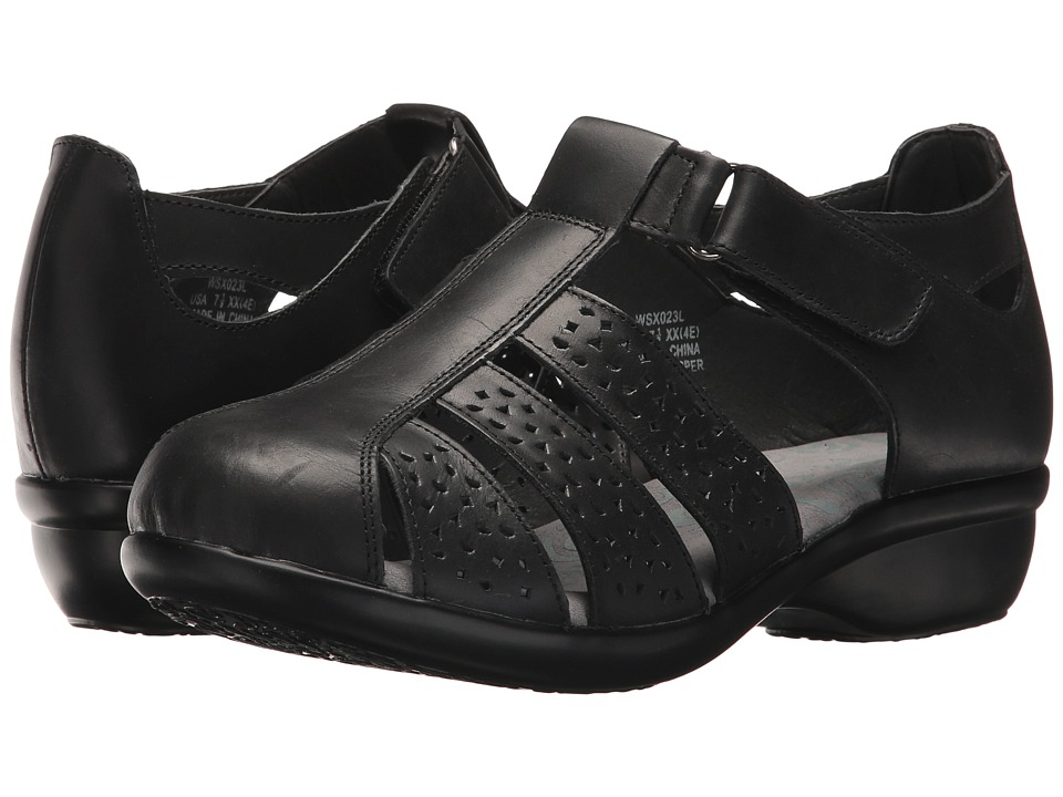 Propet April (Black) Women's Shoes
