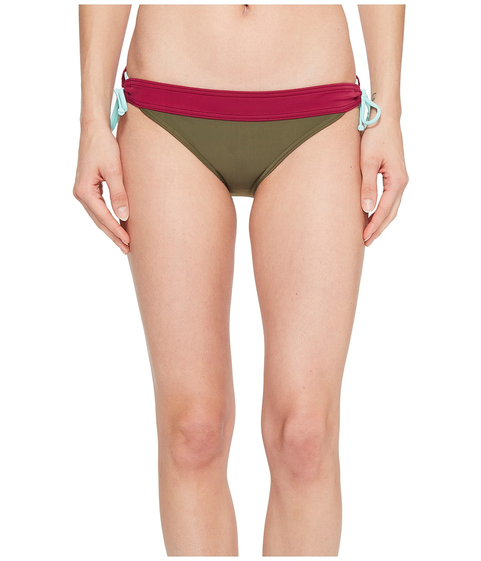 Prana Saba Bottom (Cargo Green Color Block)