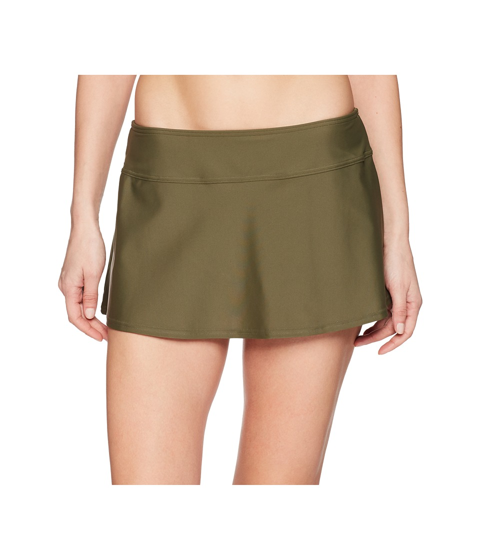 Prana Sakti Swim Skirt (Cargo Green)