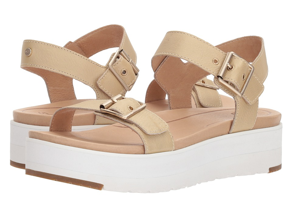 UGG - Angie (Gold) Women's Sandals