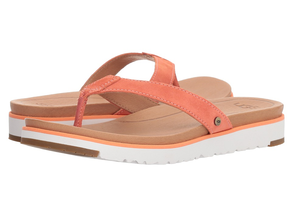 UGG - Lorrie (Fusion Coral) Womens Sandals