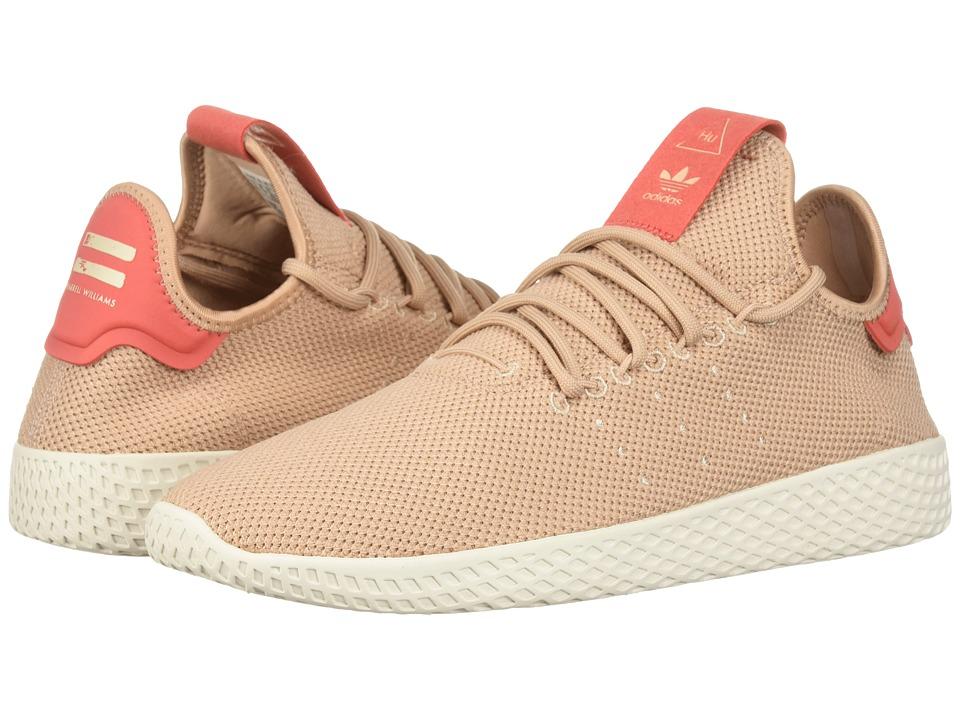 adidas Originals Pharrell Williams Tennis Human Race (Ash Pearl/Ash Pearl/Linen) Women's Shoes