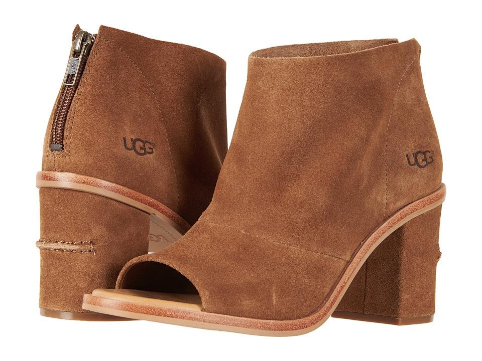 UGG Ginger (Chestnut) High Heels