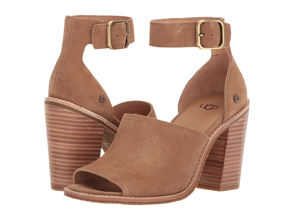 UGG Aja (Chestnut) High Heels