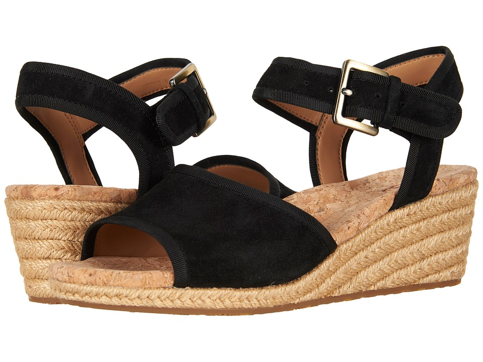 1940s Style Shoes, 40s Shoes UGG - Maybell Black Womens Sandals $99.95 AT vintagedancer.com