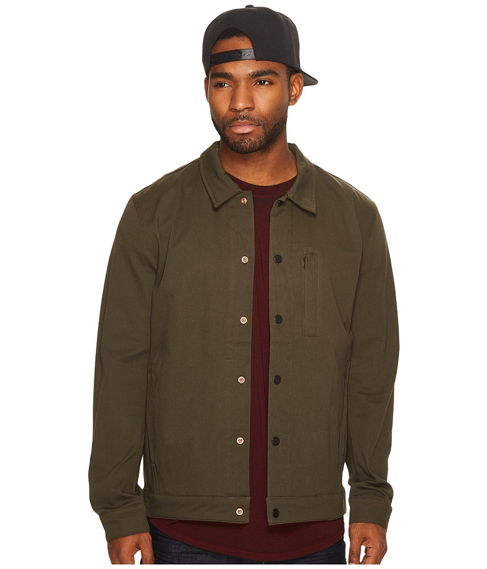 Levis(r) Mens - Commuter Pro Coaches Jacket (Graphite Green) Mens Coat