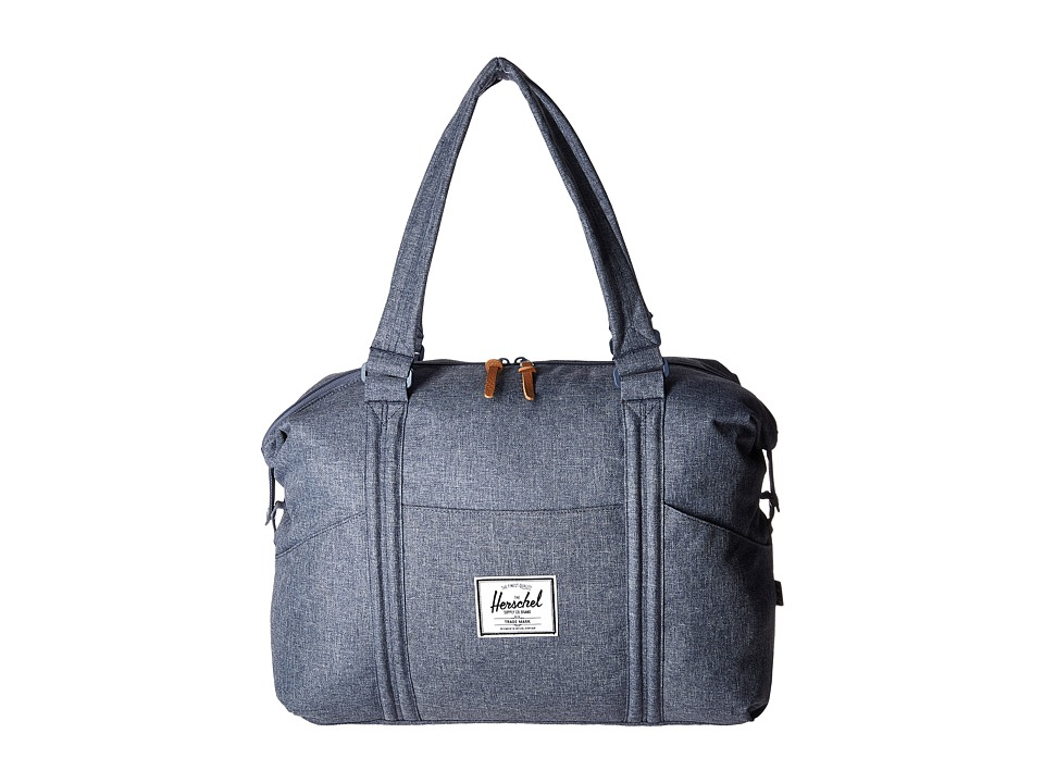 Herschel Supply Co. - Strand (Dark Chambray Crosshatch) Duffel Bags