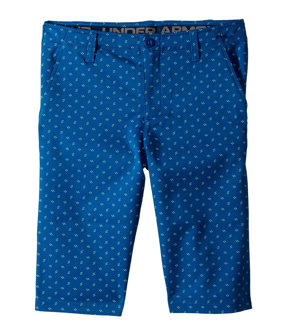 Under Armour Kids - Match Play Printed Shorts (Little Kids/Big Kids) (Moroccan Blue/Academy/Moroccan Blue) Boys Shorts
