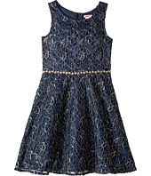 Nanette Lepore Kids - Lurex Lace with Jewel Embellishment (Little Kids/Big Kids)