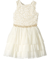 Nanette Lepore Kids - Lurex Ribbon Mesh with Lurex Crochet Trim (Little Kids/Big Kids)