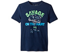 Under Armour Kids Savage on The Court Short Sleeve Tee (Big Kids)