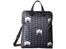 Orla Kiely Buttercup Stem Printed Fold-Over Tote