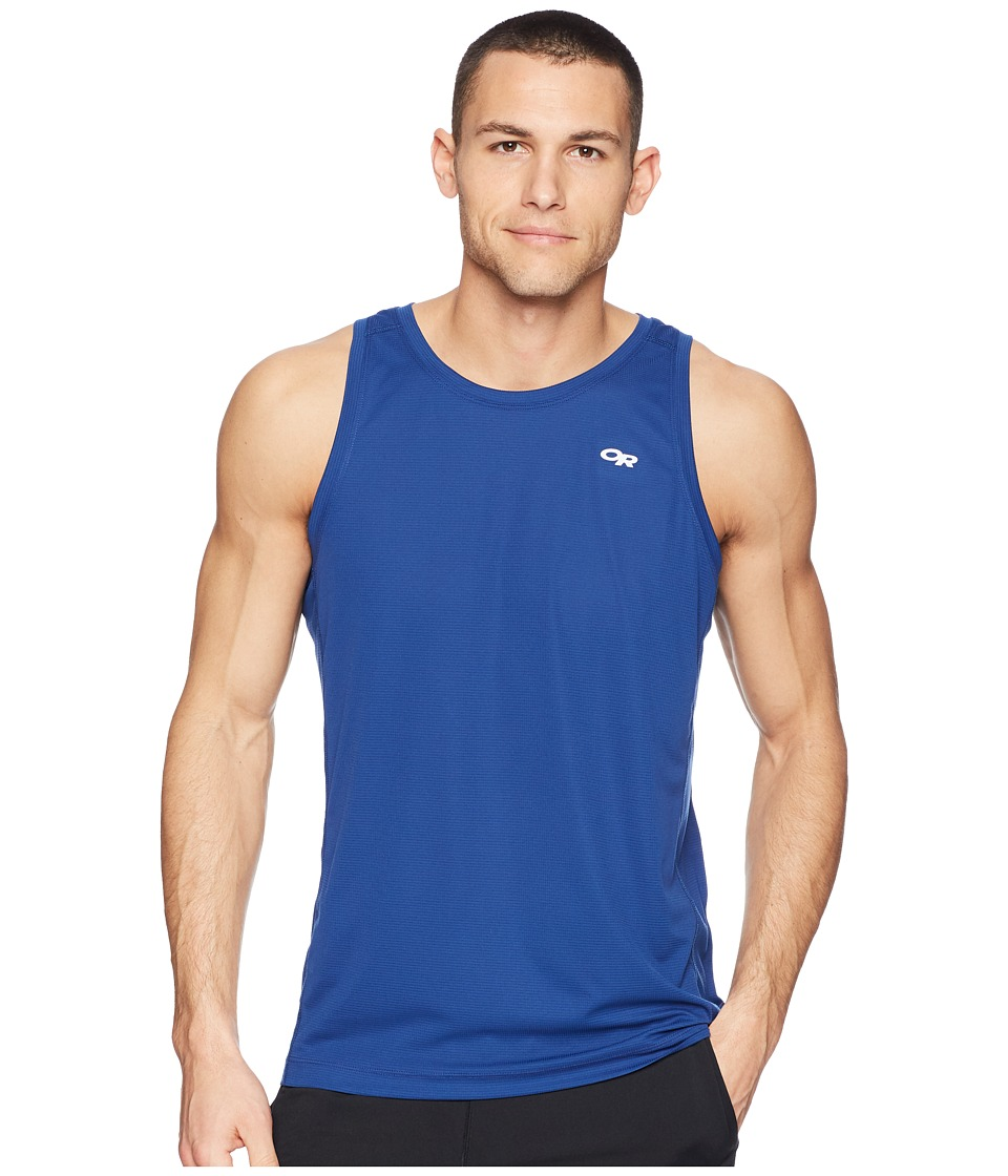 Outdoor Research Echo Tank Top (Baltic/Glacier) Men