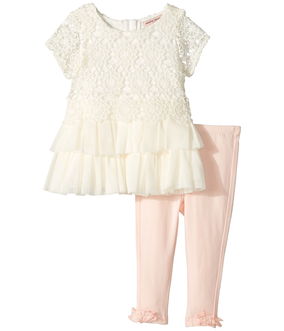 Nanette Lepore Kids - Crochet Lace Tunic Set