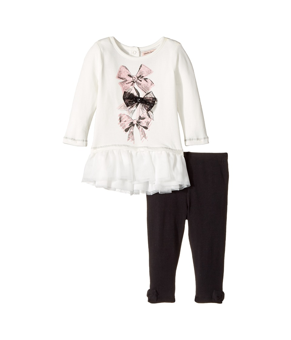 Nanette Lepore Kids - Bow Detail Top with Leggings Set