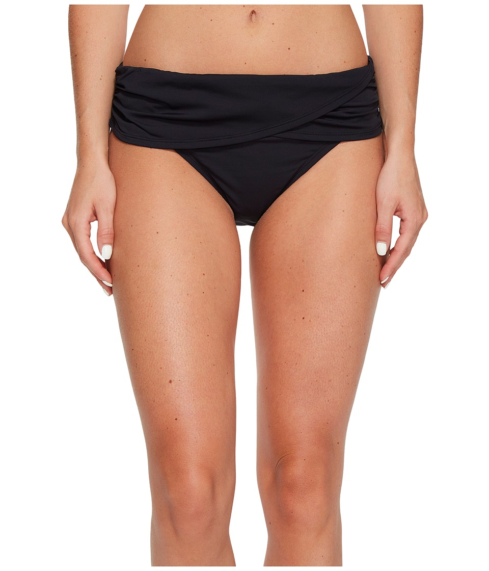 Bleu Rod Beattie Kore Sarong Hipster Bikini Bottom (Black) Women