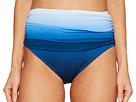 Bleu Rod Beattie Hola Ombre Shirred High Waist Bikini Bottom