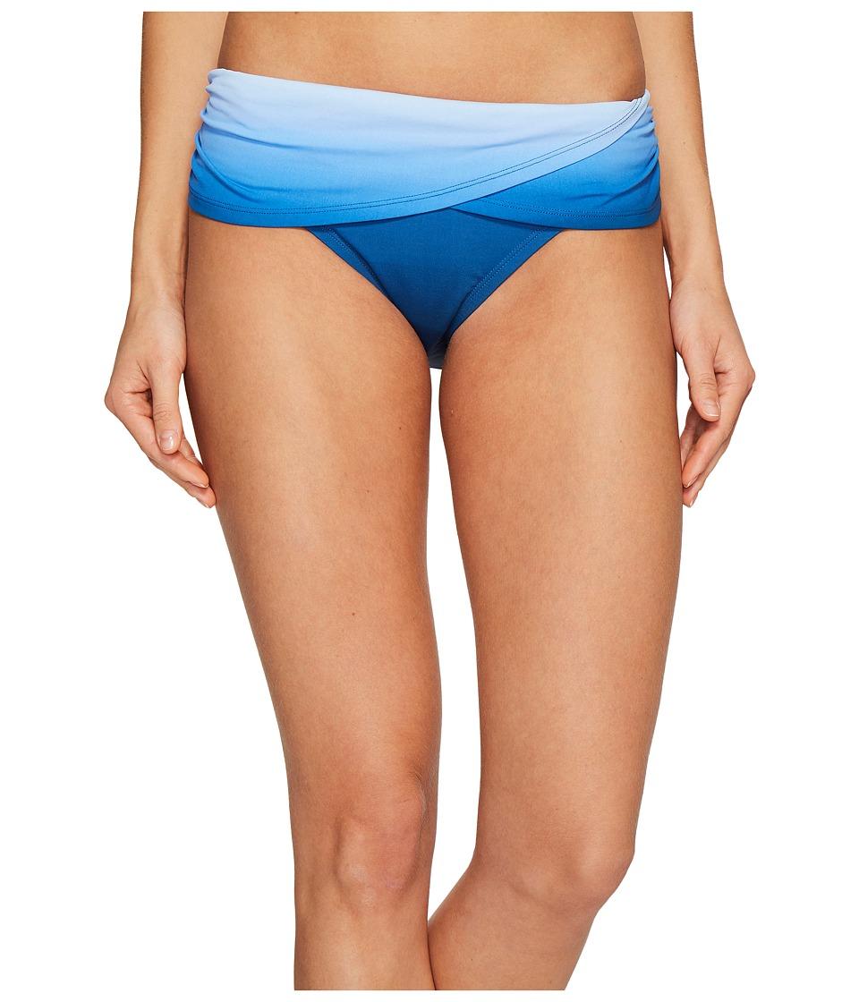 Bleu Rod Beattie Hola Ombre Sarong Hipster Bikini Bottom (Monaco Blue) Women