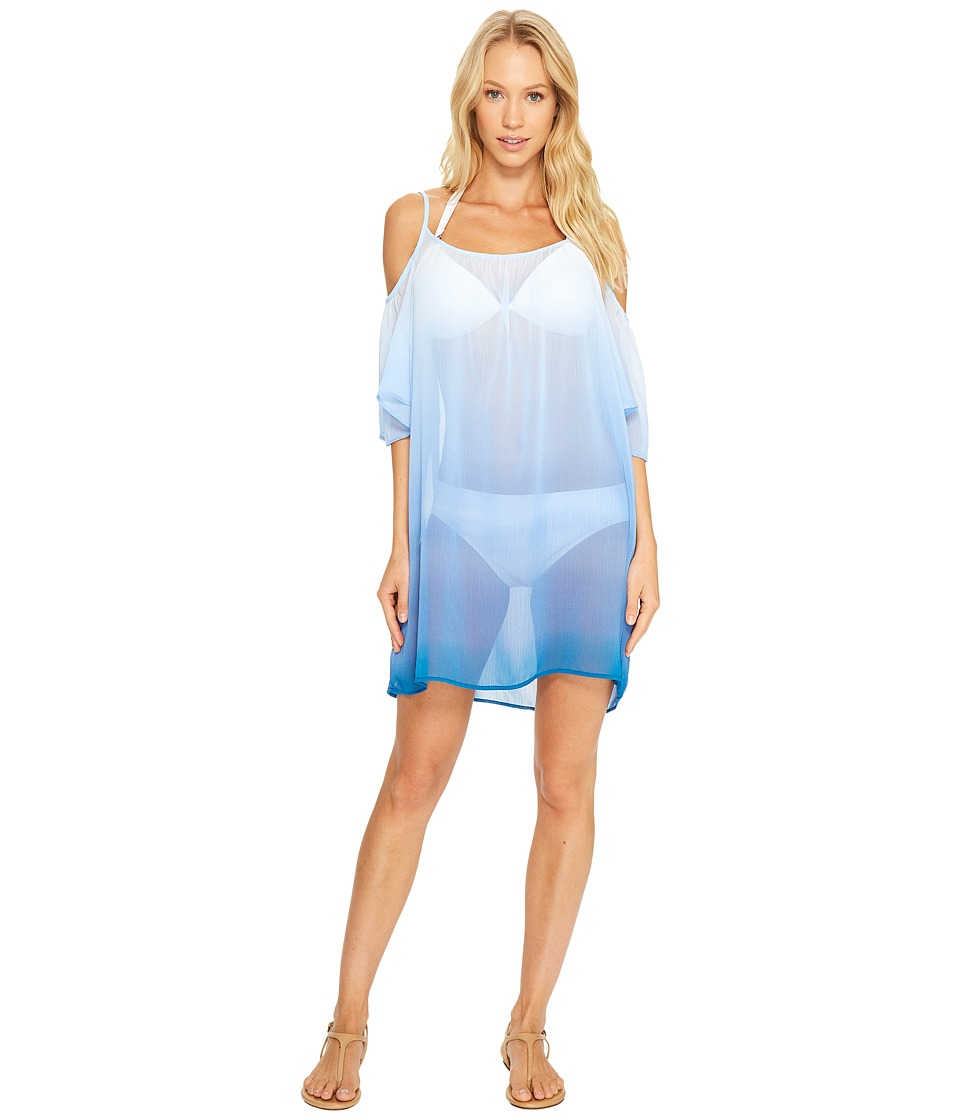 Bleu Rod Beattie - Hola Ombre Cold Shoulder Dress Cover