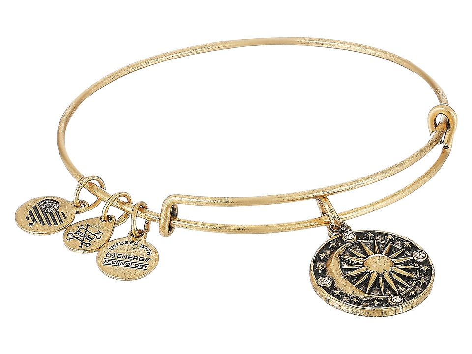 Alex and Ani - Cosmic Balance II Bangle (Rafaelian Gold) Bracelet